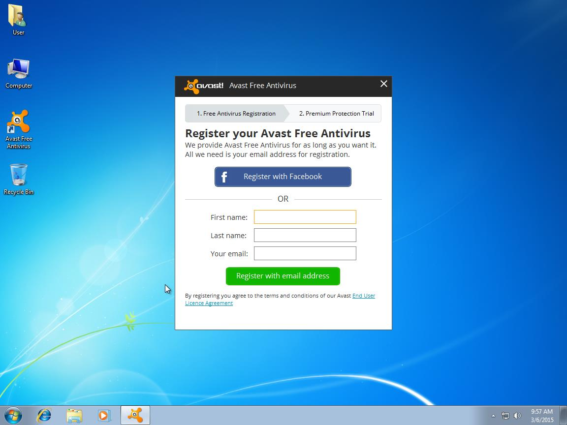 how to activate avast for free